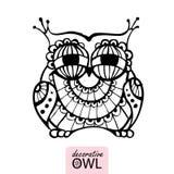 Decorative owl Stock Photos