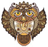 Decorative Owl Stock Photo