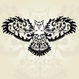 Decorative owl Stock Photography