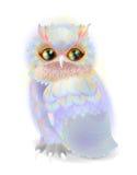 Decorative owl. Royalty Free Stock Photo