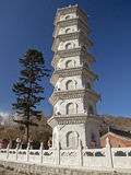 Decorative pagoda Stock Photo