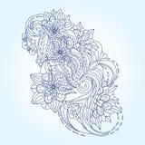 Decorative paisleys element collection. royalty free stock photos