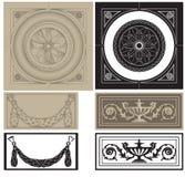 Decorative pane set Stock Images