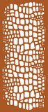 Decorative panel / Laser cutting template. Vector illustration. Can be used for laser cutting Royalty Free Stock Images