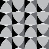Decorative paneling pattern. Geometric seamless pattern. Interior Design wallpaper. Modern stylish texture. Abstract stylish background Stock Photo