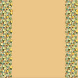 Decorative paper. Decor for a card or envelope Royalty Free Stock Photography