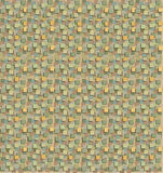 Decorative paper. With endless print in earthy hues Royalty Free Stock Photo