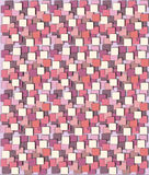Decorative paper. Decorative pink shades, with a dynamic universal motif of squares Stock Image