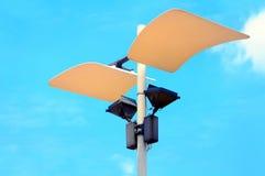 Decorative park lights Royalty Free Stock Image