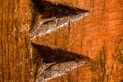 Decorative part of varnished surface royalty free stock images