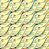 Decorative pattern abstract diagonal texture fabric stock illustration