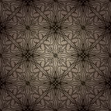 Decorative Pattern Background. A background illustration of a repeating decorative pattern Stock Photo