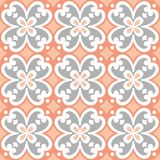 Decorative pattern for the background, tile and textiles. royalty free illustration