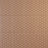 Decorative pattern of brown leather Royalty Free Stock Images
