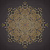 Decorative pattern geometric ornament vector illustration Royalty Free Stock Photos