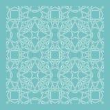 Decorative pattern geometric ornament vector illustration Royalty Free Stock Photo