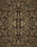 Decorative pattern, interlaced lines, the combination of fragments of images. Stock Images