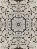 Decorative pattern, interlaced lines, the combination of fragments of images. Stock Photos