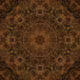 Decorative pattern, interlaced lines, the combination of fragments of images. Royalty Free Stock Image