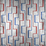 Decorative pattern - seamless background - red-blue Colors Royalty Free Stock Photos