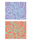 Decorative Pattern Spiral Royalty Free Stock Images
