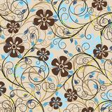 Decorative pattern, vector Royalty Free Stock Images