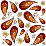 Decorative pattern vector royalty free illustration