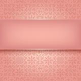 Decorative pattern - Vector illustration 10eps Stock Image