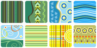 Decorative patterns Stock Photos