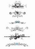 Decorative patterns royalty free illustration