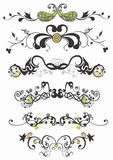 Decorative patterns. Retro illustration of decorative patterns Royalty Free Stock Images