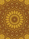 Decorative Patterns in Brown Stock Photo
