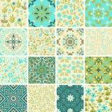 Decorative patterns set Royalty Free Stock Photos