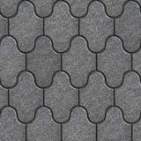 Decorative Paving Slabs. Seamless Tileable Texture. Stock Image