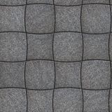 Decorative Paving Slabs. Seamless Tileable Texture. Royalty Free Stock Photos