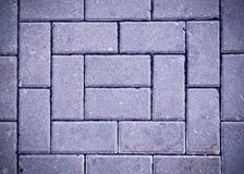 Decorative paving tile with vignette. background, texture, pattern. stock images