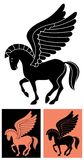 Decorative Pegasus Stock Images