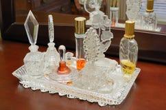 Decorative Perfume Bottles Royalty Free Stock Photo