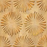 Decorative petals - Interior wallpaper. Seamless background - wooden structure Royalty Free Stock Photo