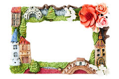 Decorative photo frame Royalty Free Stock Images
