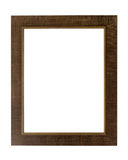 Decorative photo frame isolated on white background. Stock Images