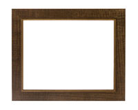 Decorative photo frame isolated on white background. Stock Photo