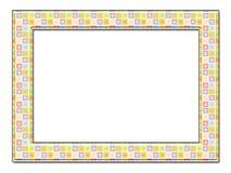 Decorative photo framework 17. Decorative photo framework. Isolated on a white background Royalty Free Stock Image