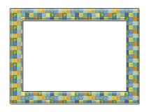 Decorative photo framework 24. Stock Image