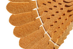 Decorative piece of wood products. Isolated Stock Photos