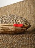 Decorative pillow. Close up of Decorative pillow Stock Images