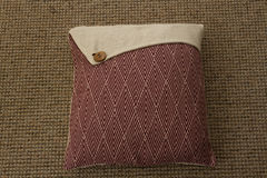 Decorative pillow for interior decoration Royalty Free Stock Photo