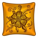 Decorative pillow Stock Images