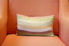 Decorative pillow natural Fabric Royalty Free Stock Image
