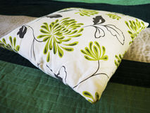 Decorative pillow natural Fabric Royalty Free Stock Photo